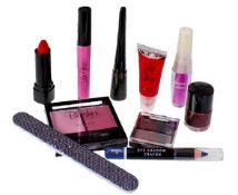 + VAT Brand New Ten Beauty Product Selection in Gift Bag (Contents vary)