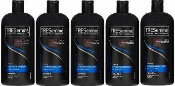 + VAT Brand New A Lot Of 5 Tresemme Professional 900ml Luxurious Moisture Shampoo (for dry hair)