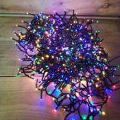 + VAT Brand New 800 Multi Coloured LED Multi Function Christmas Lights