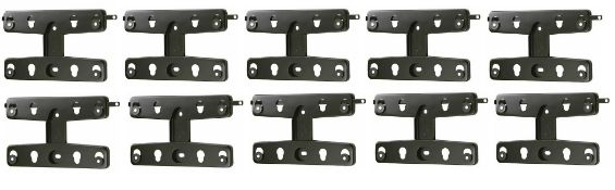 """+ VAT Brand New 10 Secura Low Profile Ultra Slim TV Wall Mounts For Models 13""""-26"""" - Online Price £"""