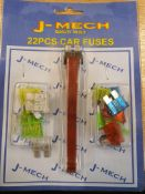 No VAT Grade U Approximately 20 22 Piece Car Fuse Kits With Fuse Remover and Installer