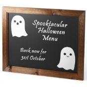 + VAT Grade A Large Wooden Framed Chalkboard