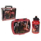 + VAT Brand New Star Wars The Force Awakens Lunch Box & Sport Bottle ISP £10.84 (ebay)