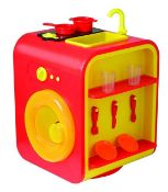 + VAT Brand New Smart 360 Kitchen With Washing Machine - Fridge With Roleplay Ice dispenser -