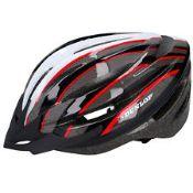+ VAT Brand New Dunlop Bicycle Helmet Inc Lightweight & Removable Visor - Size L 58-61cm - Similar