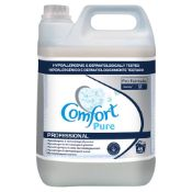 + VAT Brand New 5 Litre Bottle Comfort Pure Fabric Conditioner - Professional - Hypoallergenic &