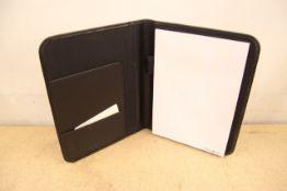 + VAT Brand New Samsonite Small Black Executive Folder With-Pen Pocket-Card Pocket-One Inner