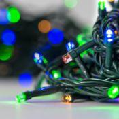 + VAT Brand New One Hundred Multi Coloured Multi Function Mains Operated LED Lights