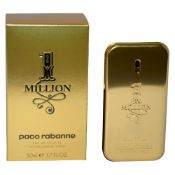+ VAT Brand New Paco Rabanne One Million 50ml EDT Spray