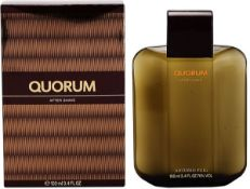 + VAT Brand New Puig Quorum 100ml Aftershave
