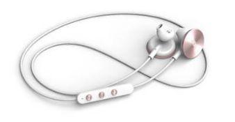+ VAT Brand New Will.i.am i.am+ Rose Gold BUTTONS Wireless Bluetooth Earphones