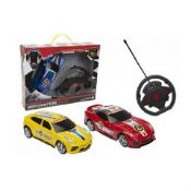 + VAT Brand New Remote Control Gravity Sensor Steering Sports Car With Lights and Steering Wheel -