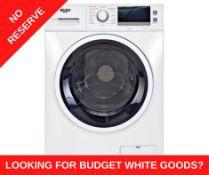 + VAT Grade A/B Bush WDNSX86W 8KG/6KG 1400 Spin Washer Drayer - 15 Washing Programmes - 15 Minute