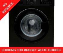 + VAT Grade A/B Bush WMNB712EB 7Kg 1200 Spin Washing Machine - A++ Energy Rated - 15 Programmes -