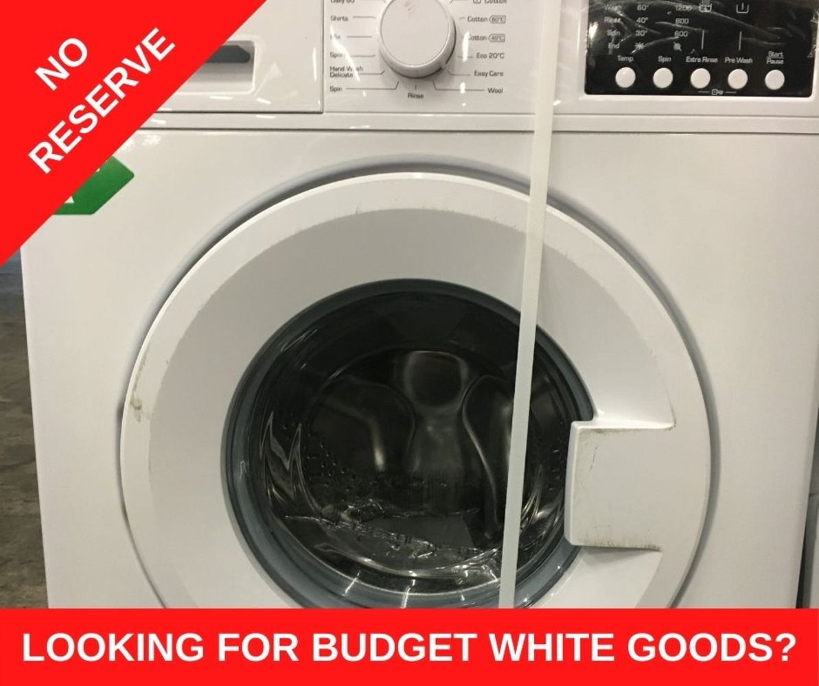 **No Reserve** Massive Clearance of Bush White Goods, Over 100 Lots Available in Trade Quantities