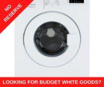 + VAT Grade A/B Bush WMDF612W 6Kg 1200 Spin Washing Machine - A++ Energy Rating - 15 Programmes -