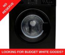 + VAT Grade A/B Bush WMNB812EB 8Kg 1200 Spin Washing Machine - A++ Energy Rating - 15 Minute Quick