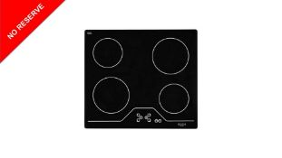 + VAT Grade A/B Bush A60CT Electric Ceramic Hob - Four Cooking Zones - Touch Control - Residual