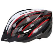 + VAT Brand New Dunlop Bicycle Helmet Inc Lightweight & Removable Visor - Size L 58-61cm - Similar