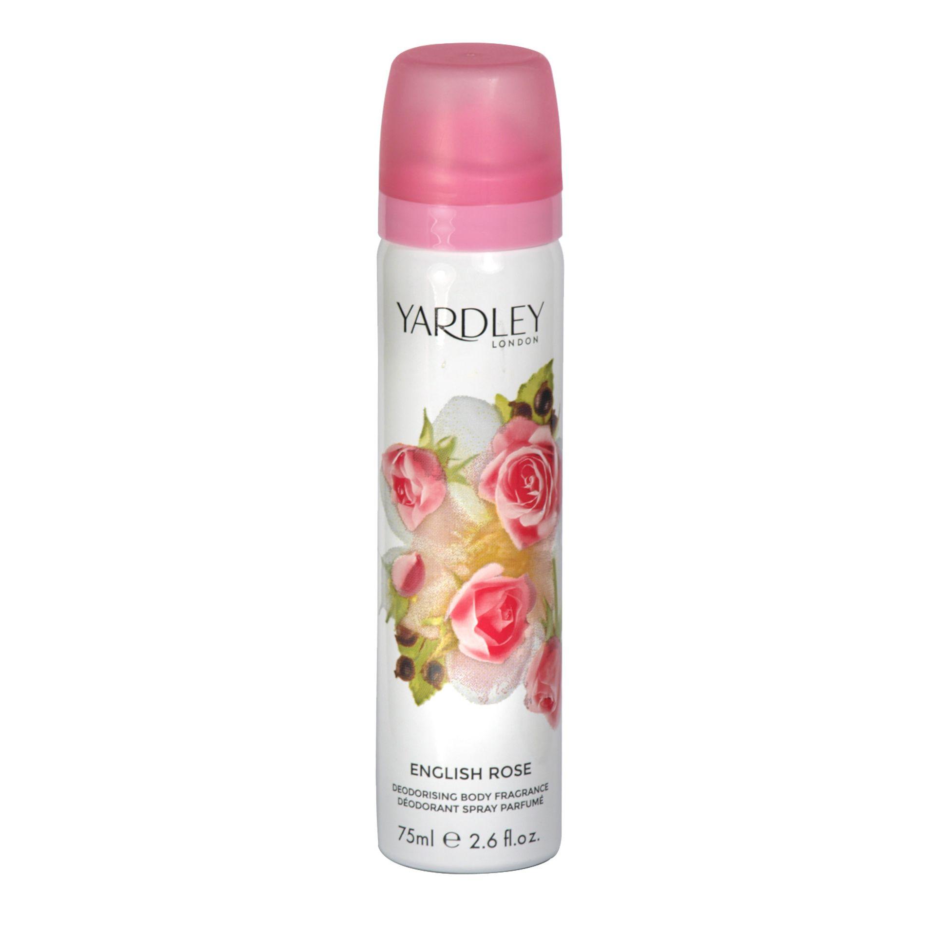 + VAT Brand New Yardley English Rose 75ml Body Spray