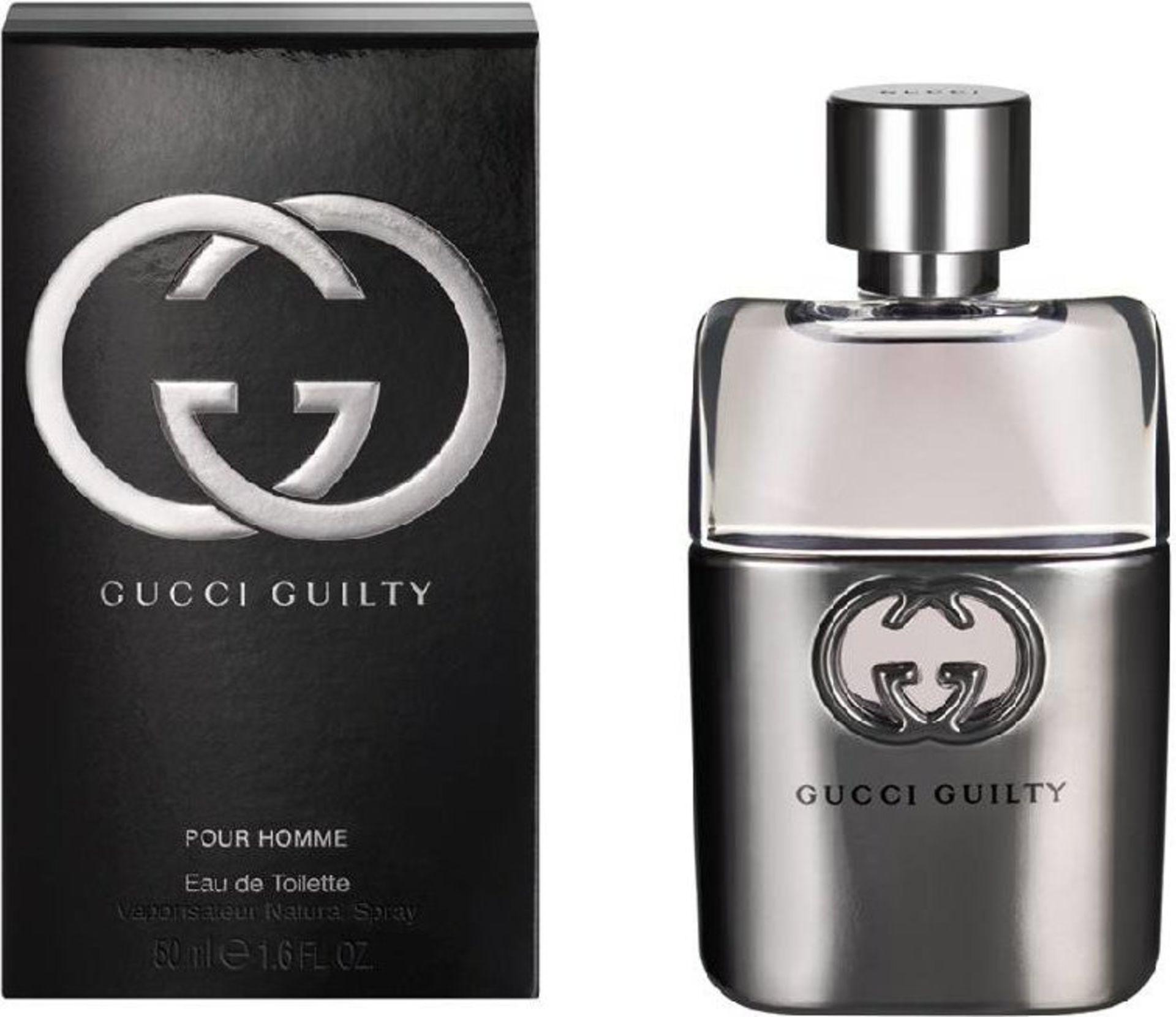 + VAT Brand New Gucci Guilty P/H 50ml EDT Spray