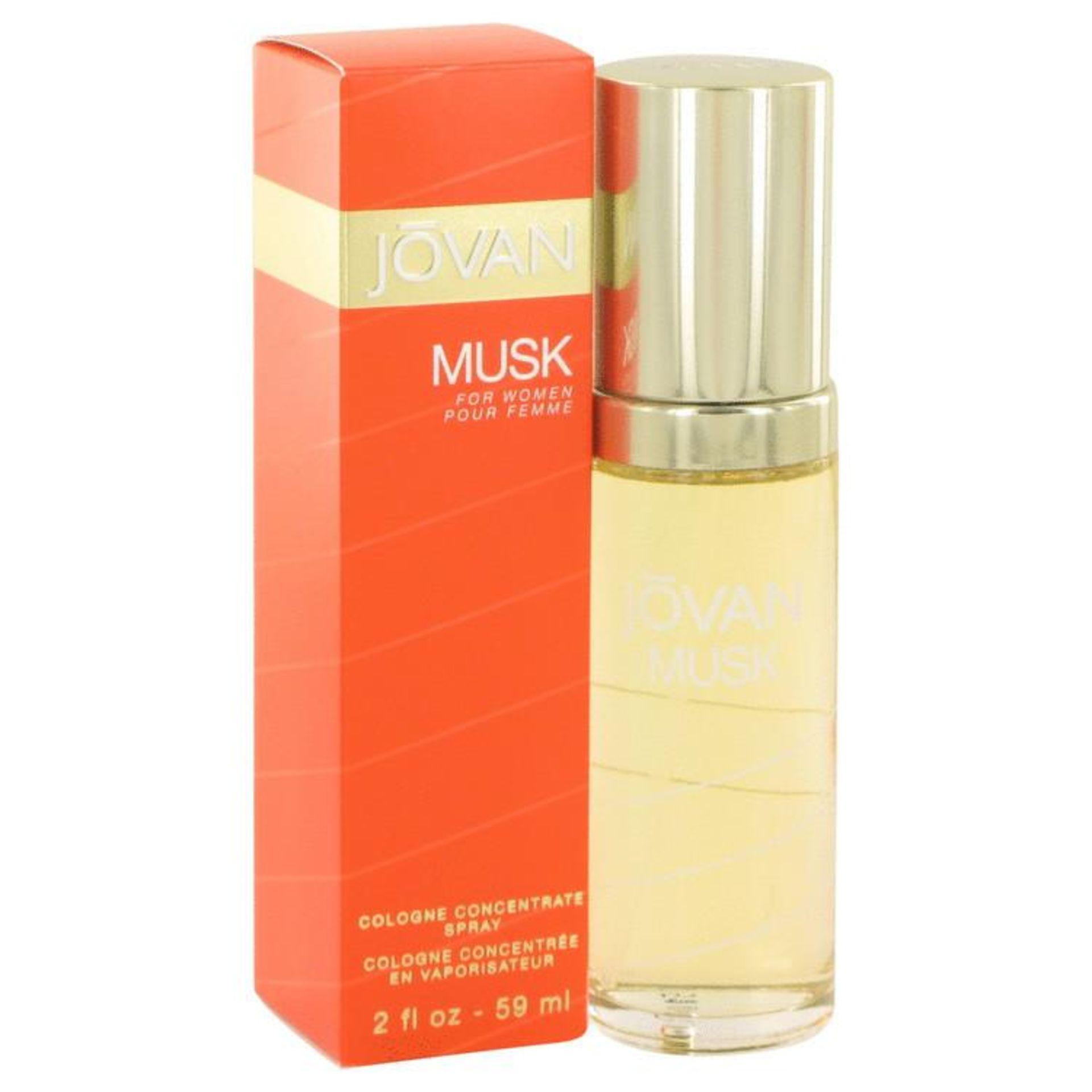 + VAT Brand New Jovan Musk 59ml Cologne Spray