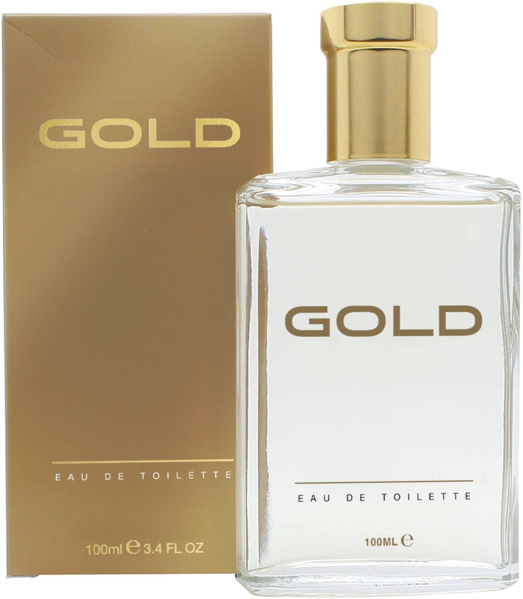 + VAT Brand New Gold 100ml EDT Spray