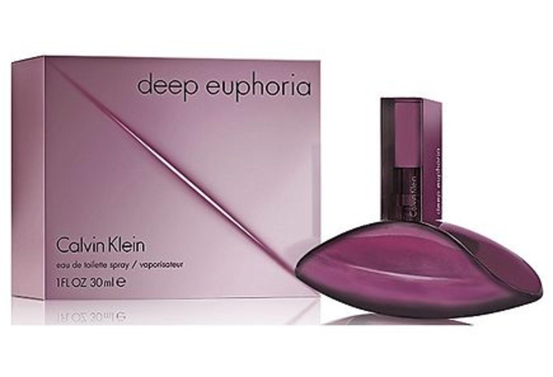 + VAT Brand New Calvin Klein Deep Euphoria 30ml EDT Spray
