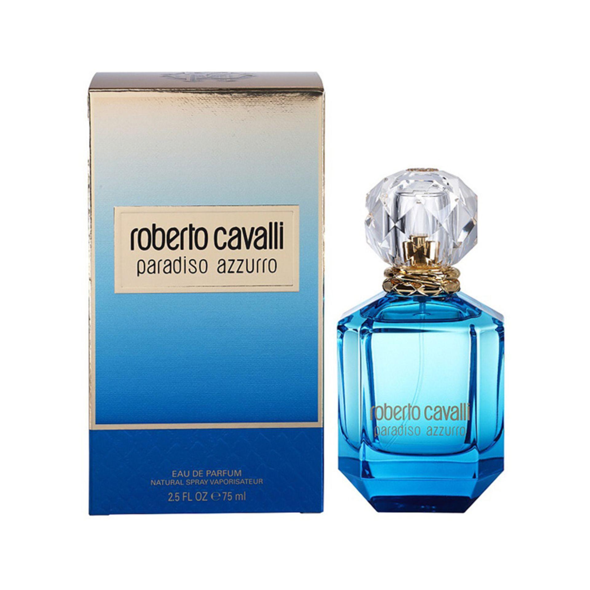 + VAT Brand New Roberto Cavalli Paradiso Azzurro (L) 75ml EDP Spray