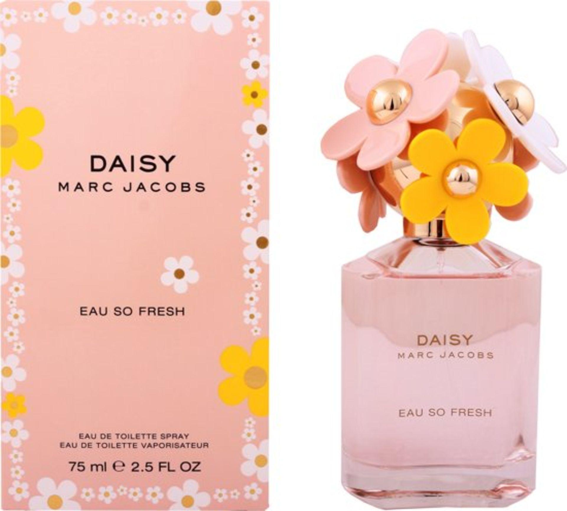 + VAT Brand New Marc Jacobs Daisy Eau So Fresh 75ml EDT Spray