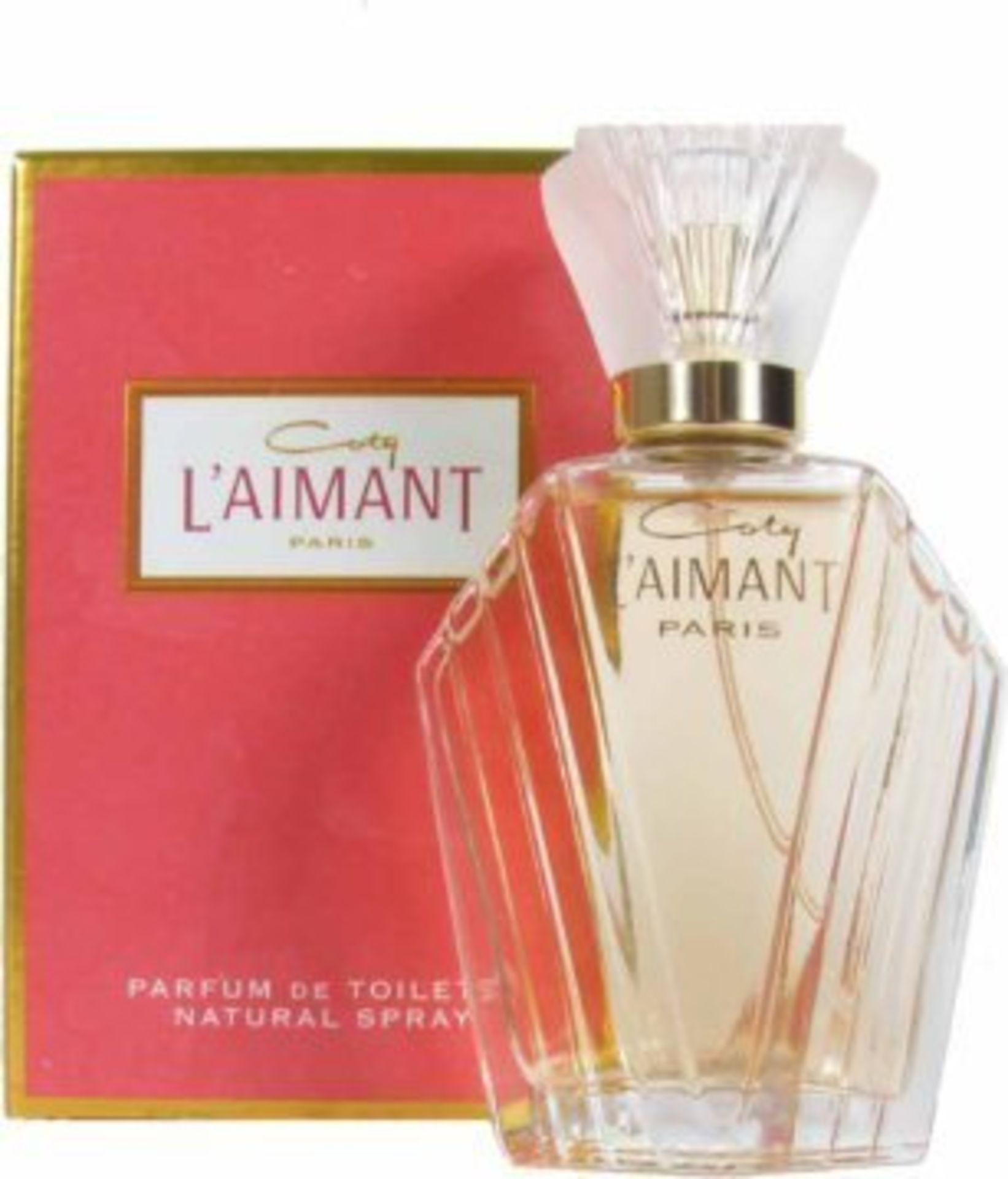 + VAT Brand New Coty L'Aimant 30ml PDT Spray