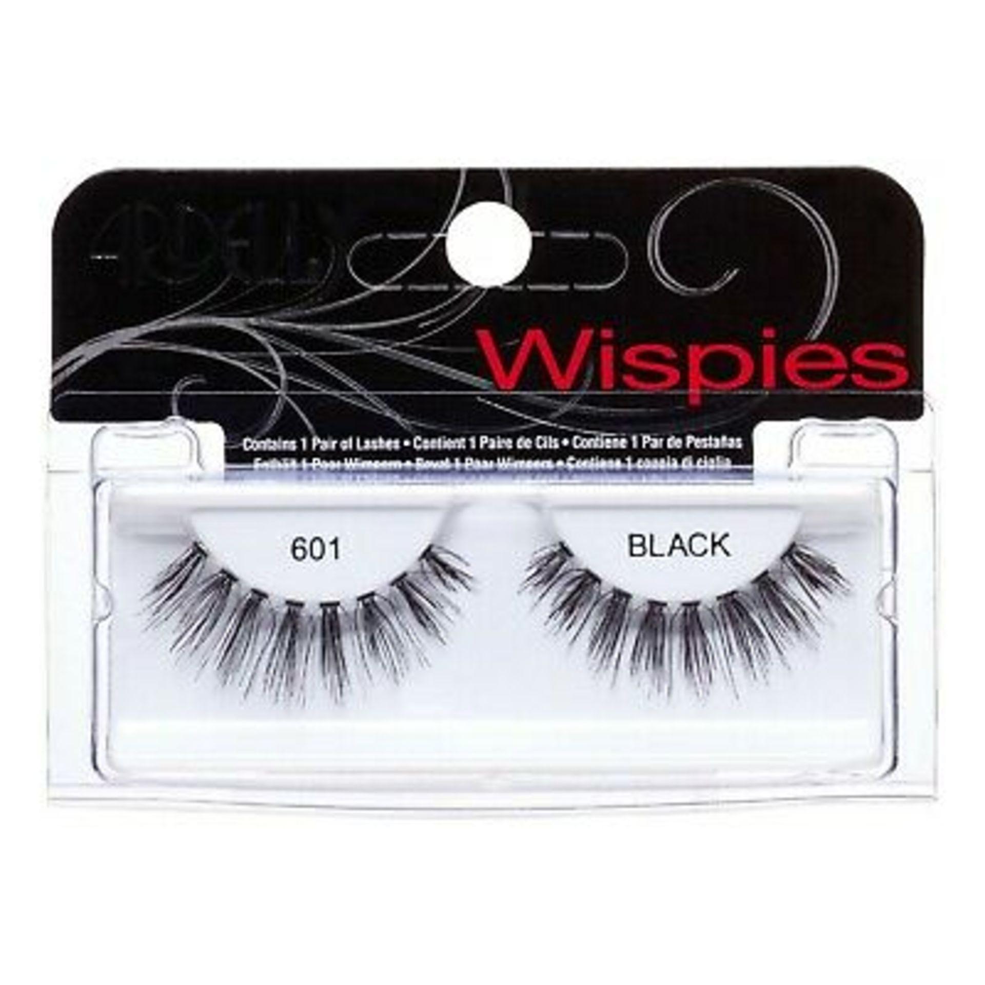 + VAT Brand New Ardell Wispies Cluster 601 Black