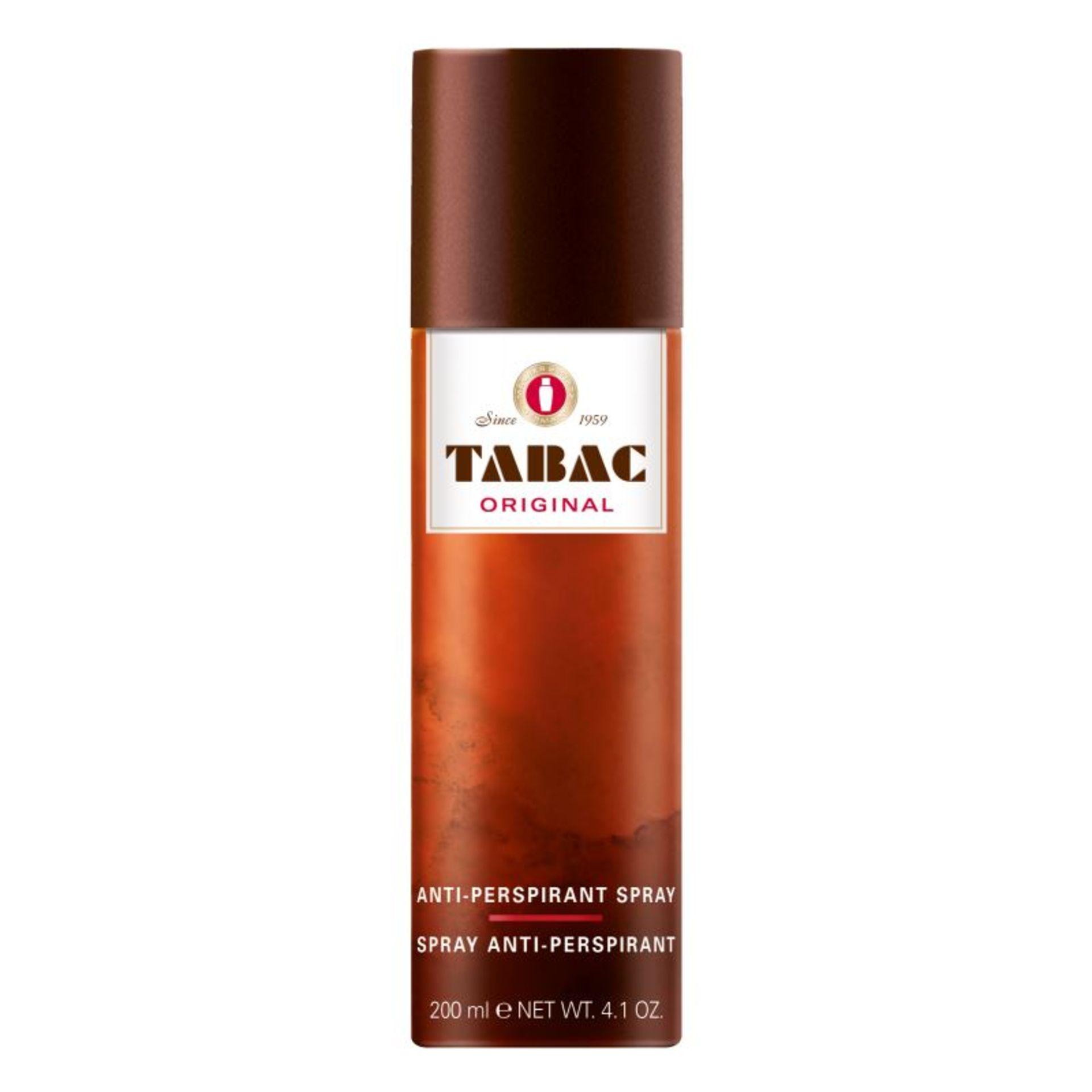 + VAT Brand New Tabac 200ml Anti-Perspirant Spray