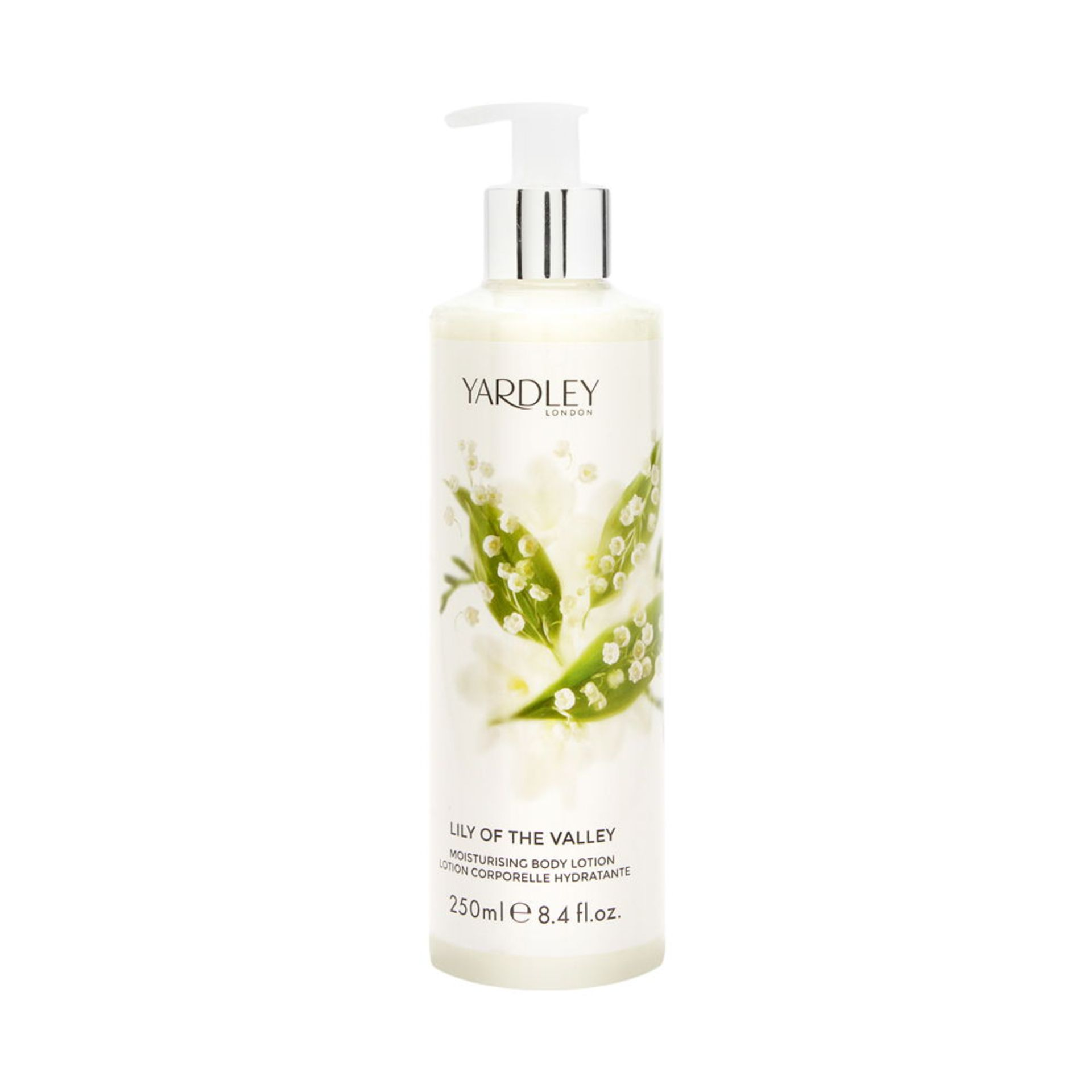 + VAT Brand New Yardley Lily of The Valley 250ml Body Lotion