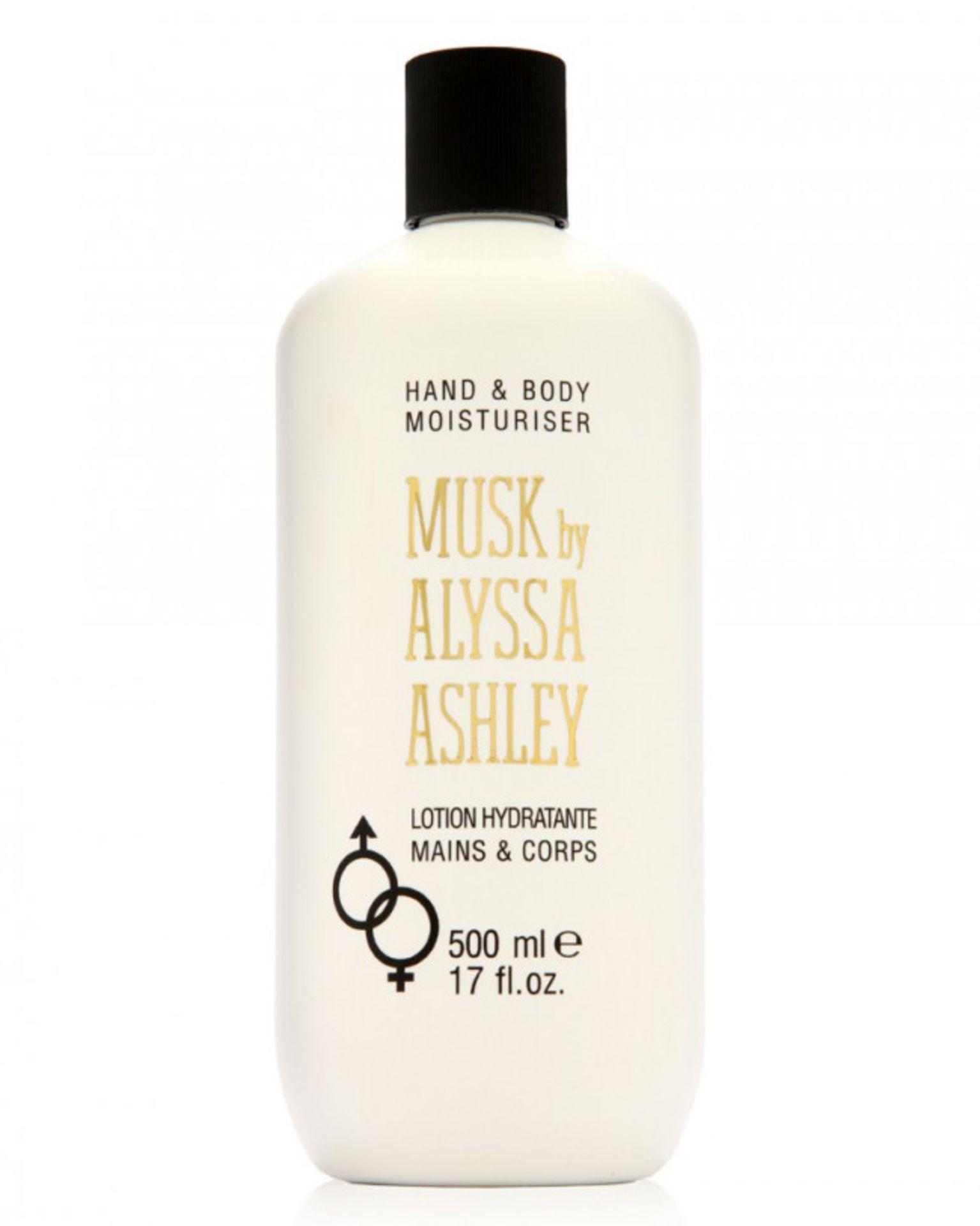 + VAT Brand New Alyssa Ashley 500ml Hand & B/L