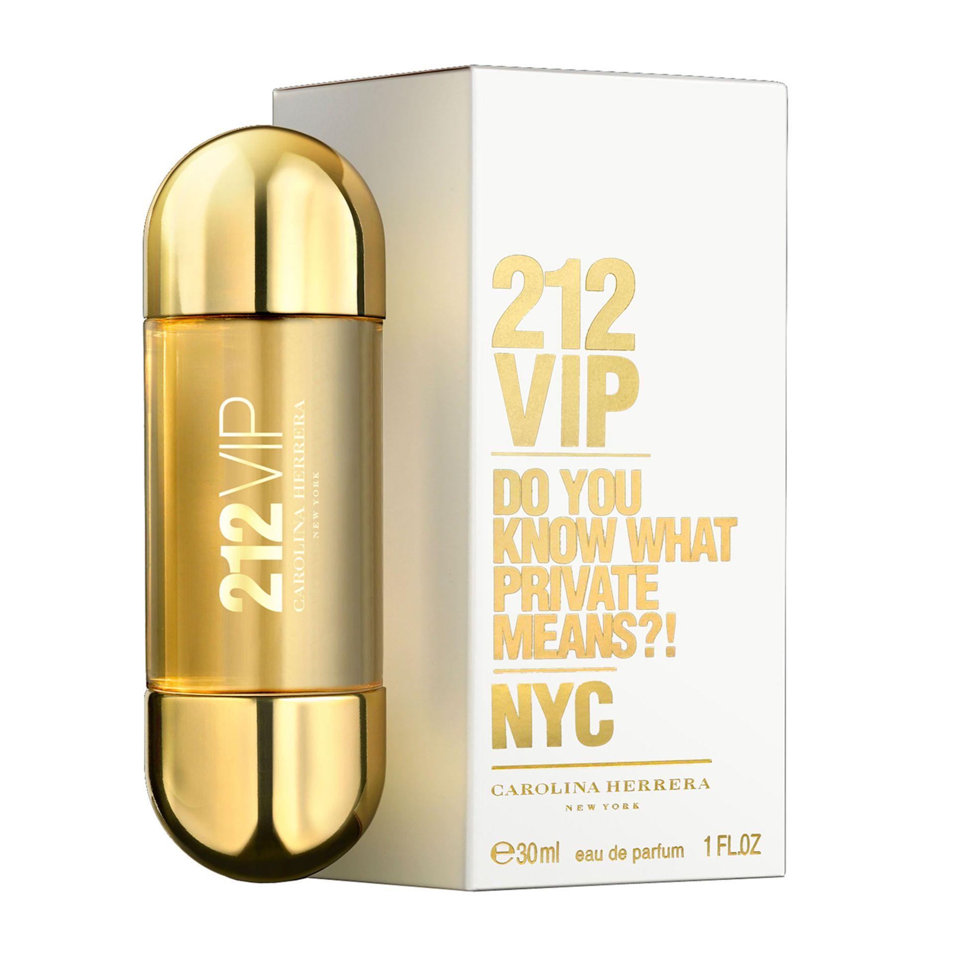 + VAT Brand New Carolina Herrera 212 V.I.P (L) 30ml EDP Spray