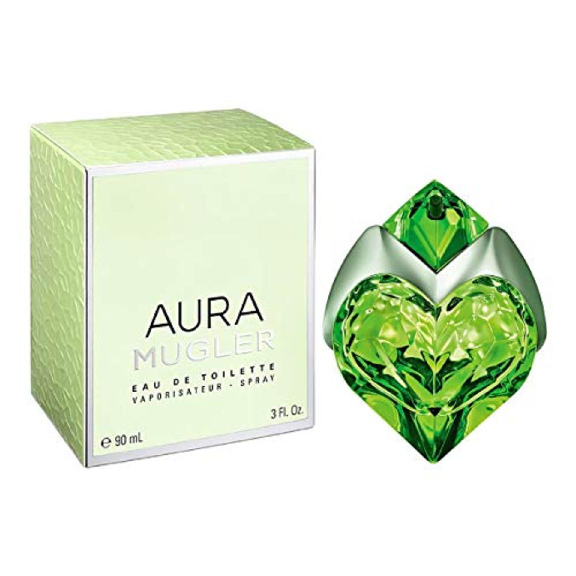 + VAT Brand New Thierry Mugler Aura 50ml EDT Refillable spray