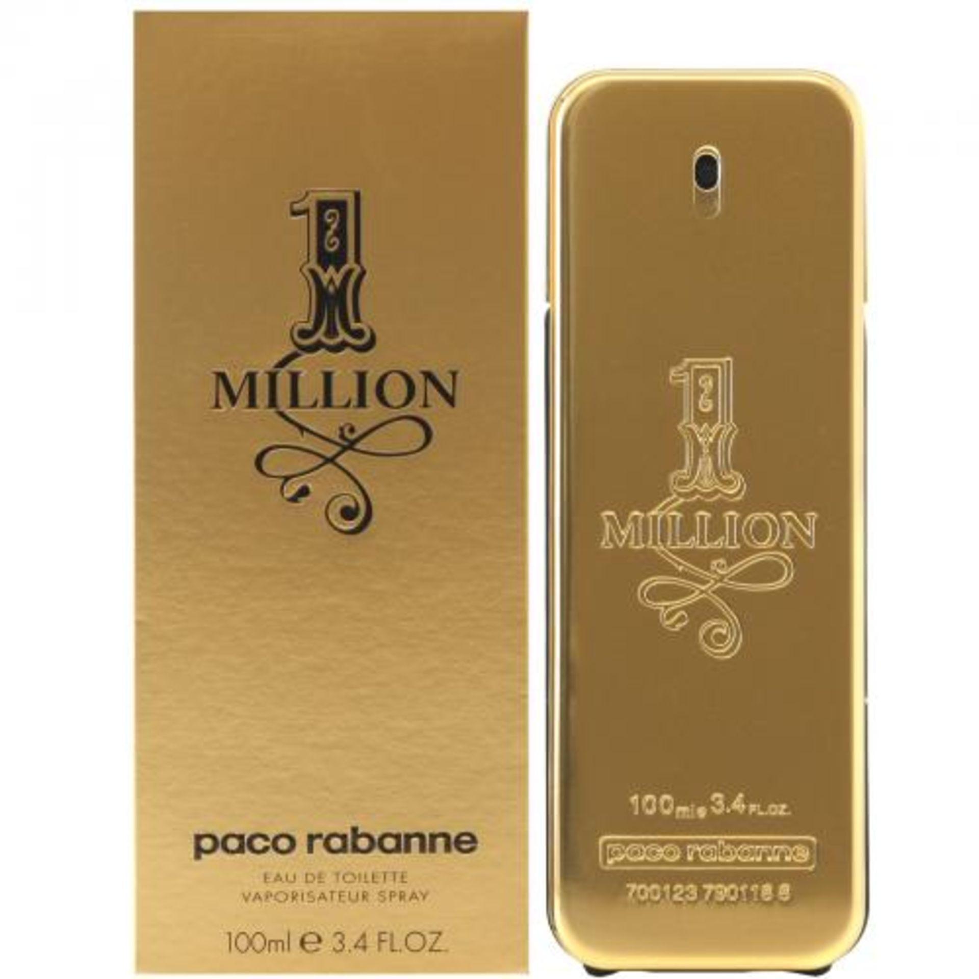 + VAT Brand New Paco Rabanne One Million 100ml EDT Spray