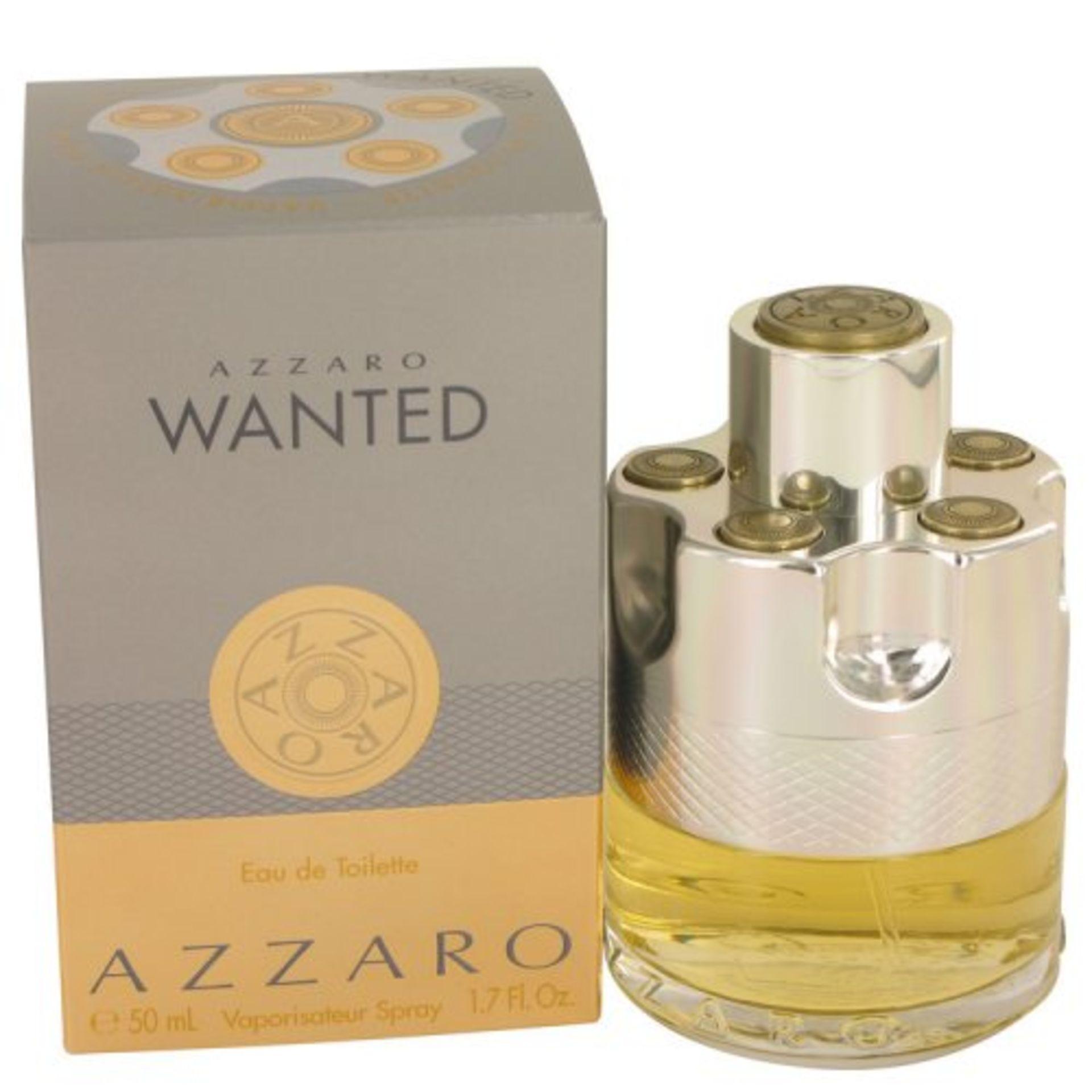 + VAT Brand New Azzaro Wanted 50ml EDT Spray
