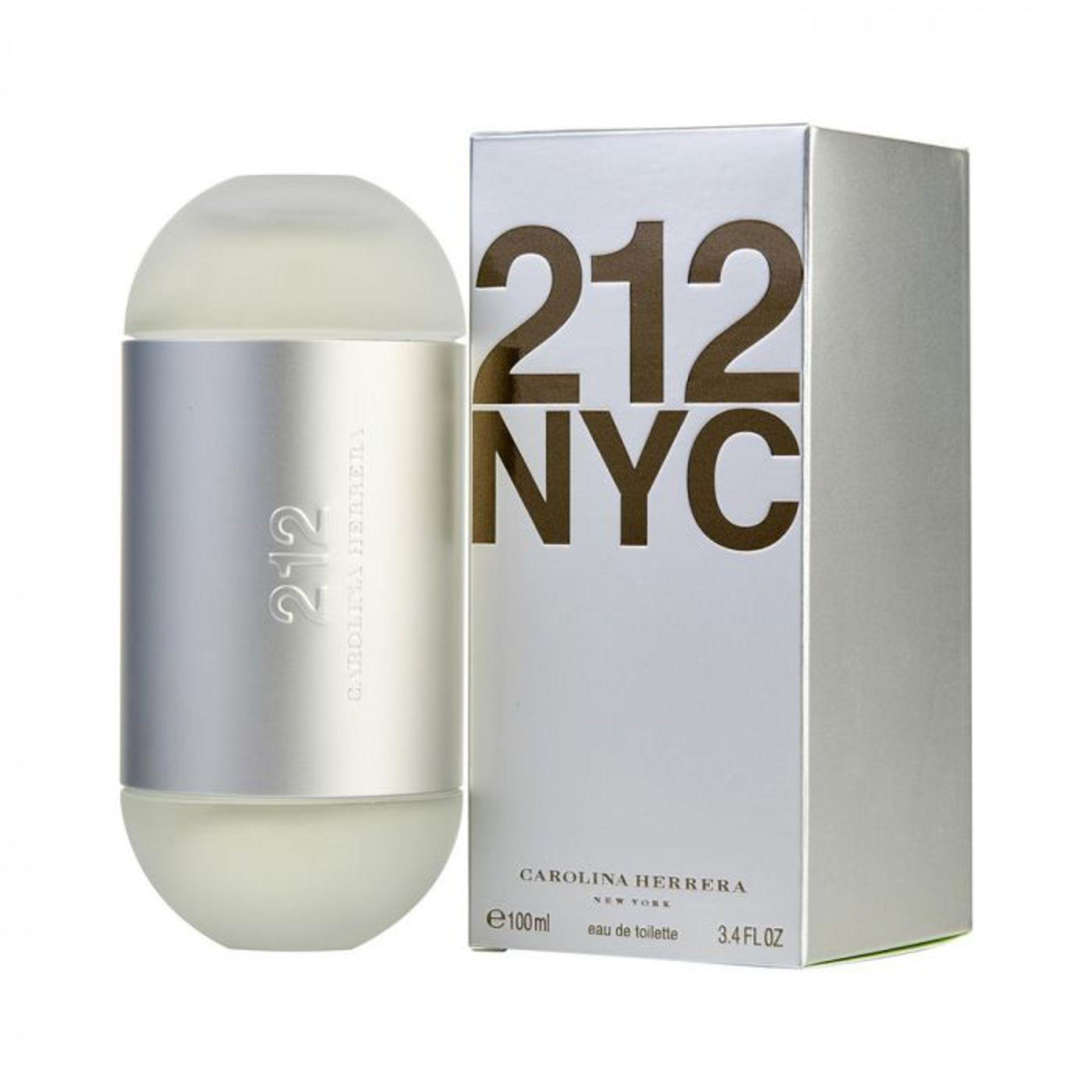 + VAT Brand New Carolina Herrera 212 100ml EDT Spray (L)