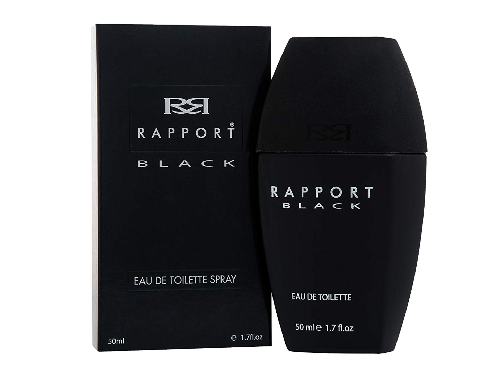 + VAT Brand New Dana Rapport Black 50ml EDT Spray