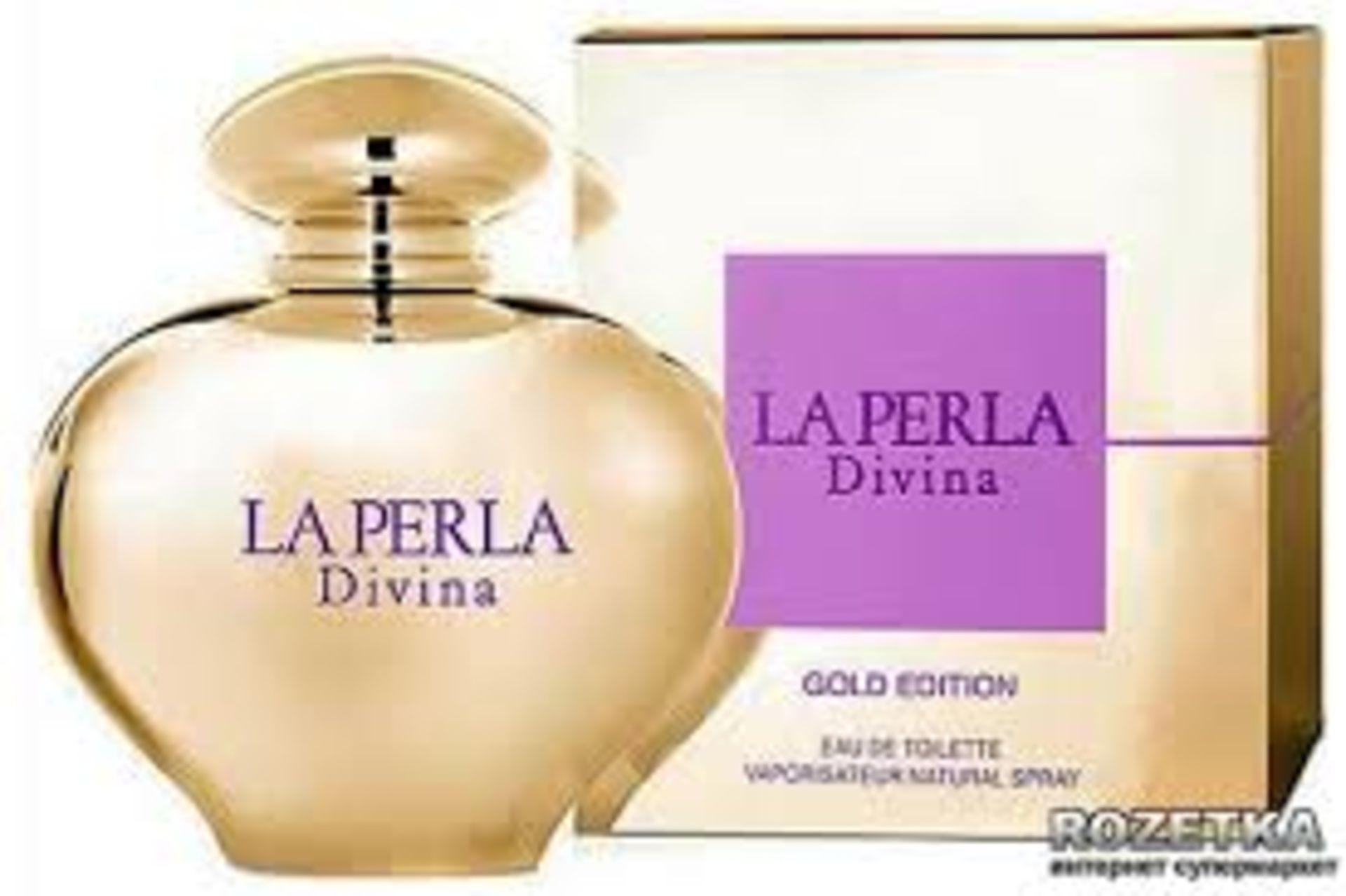 + VAT Brand New La Perla Divina Gold Edition 80ml EDT Spray