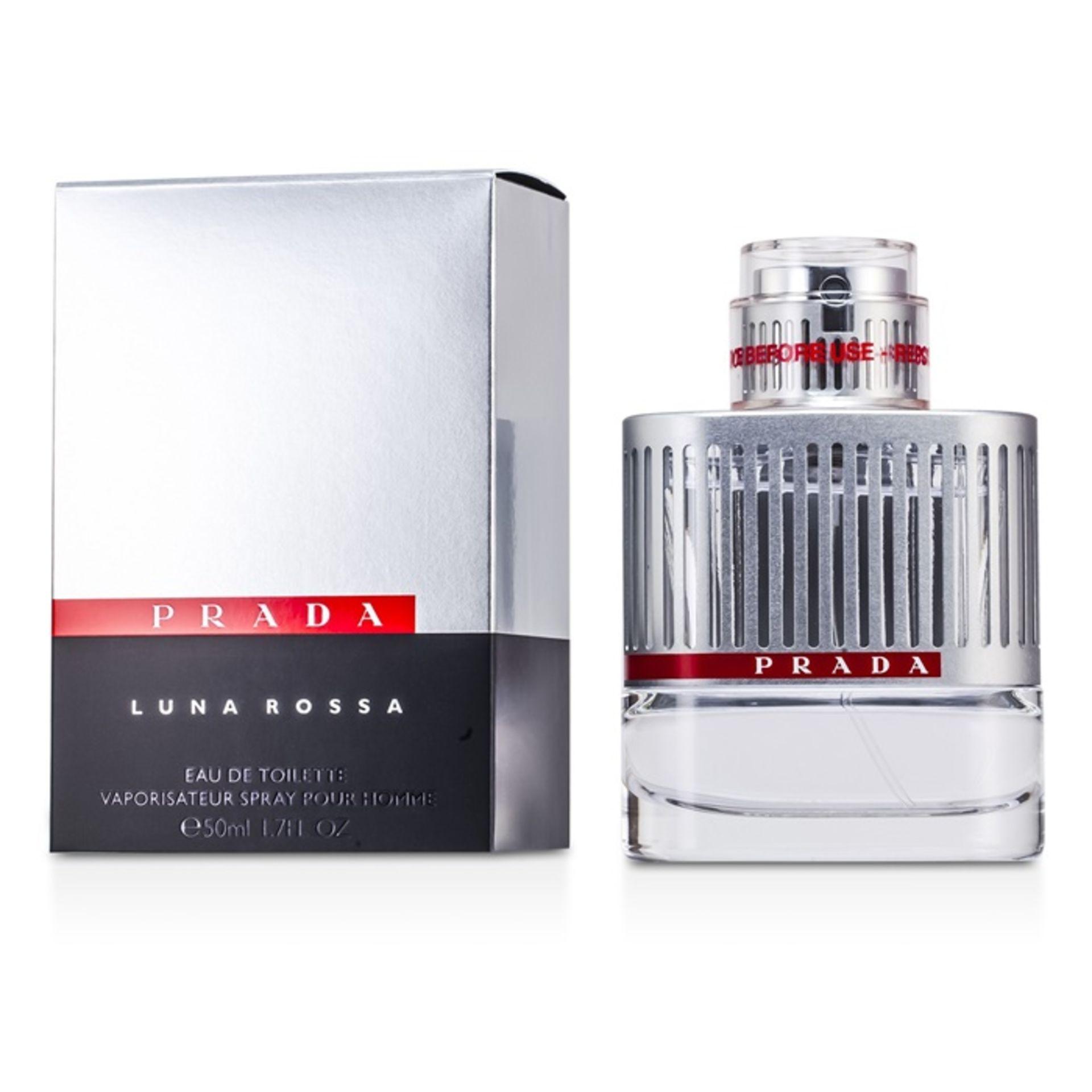 + VAT Brand New Prada Luna Rossa (M) 50ml EDT Spray