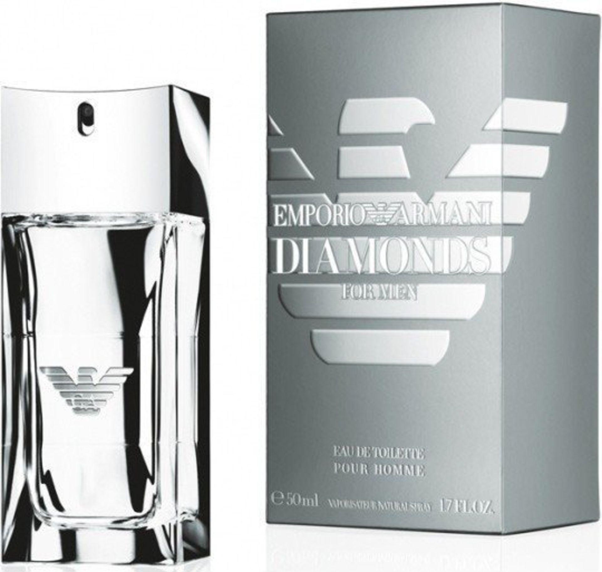 + VAT Brand New Giorgio Armani Diamond (M) 50ml EDT Spray