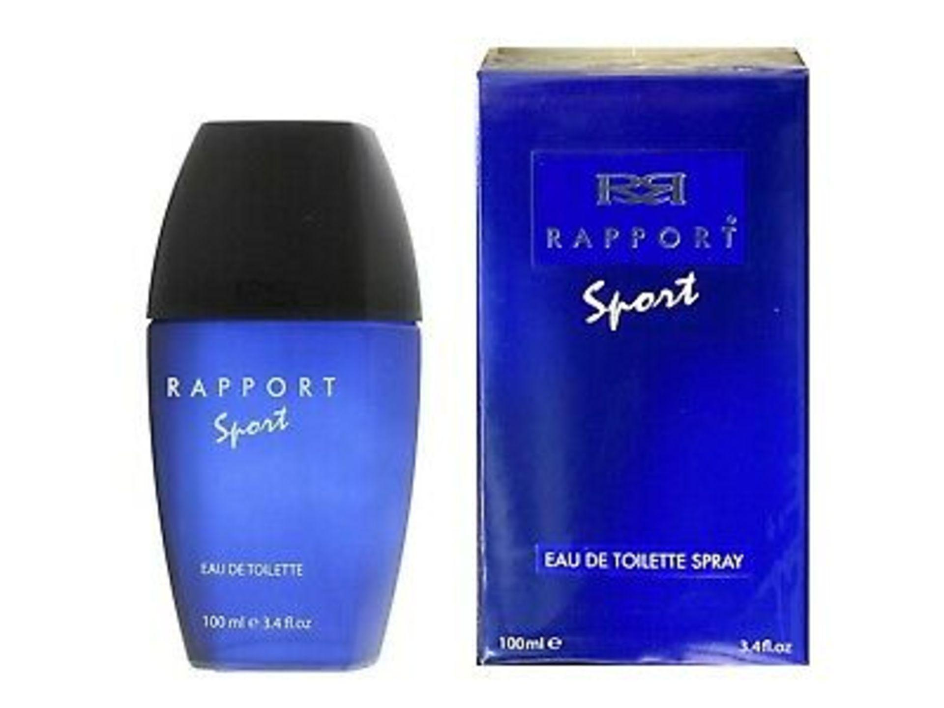 + VAT Brand New Dana Rapport Sport 100ml EDT Spray
