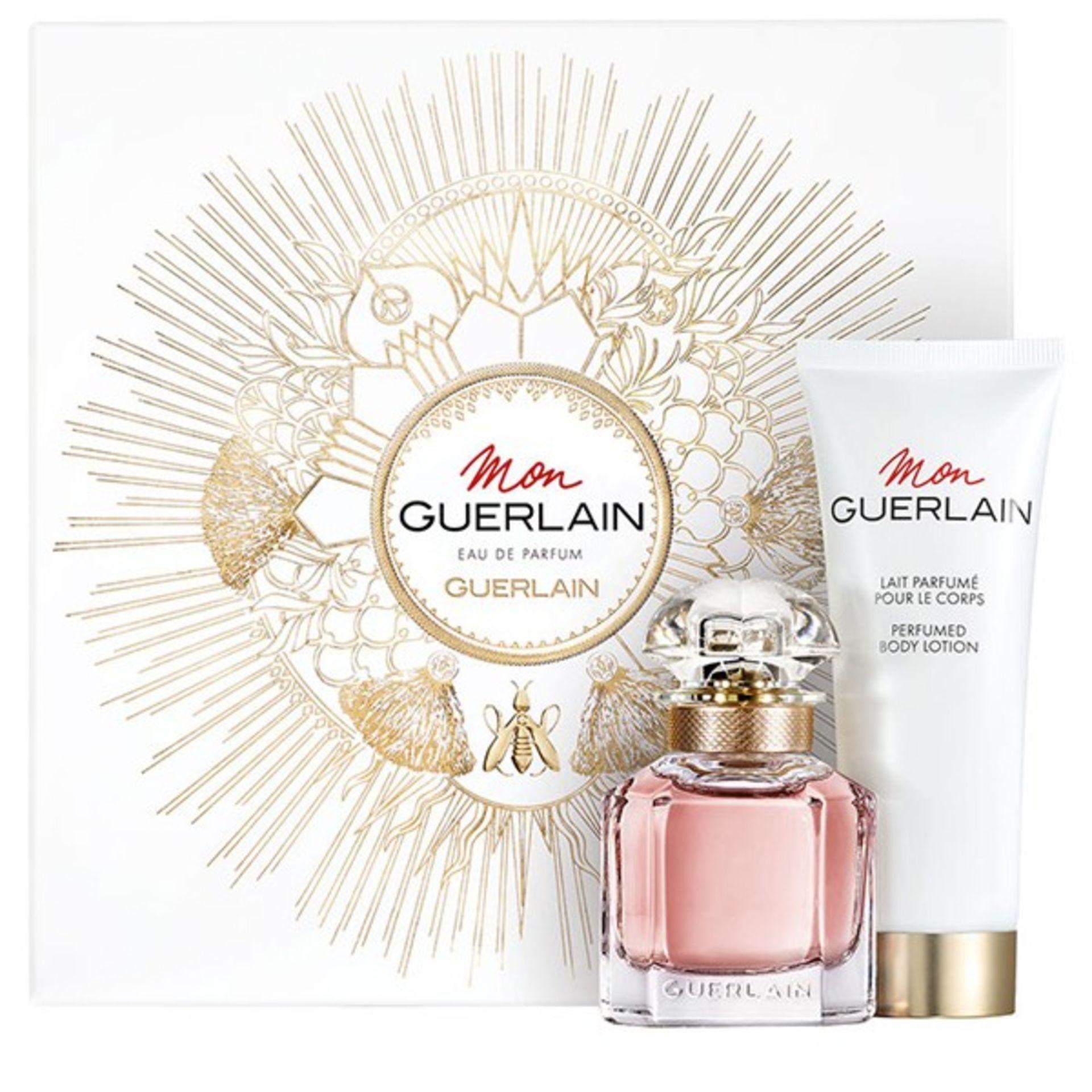 + VAT Brand New Guerlain Mon Guerlain 30ml EDP Spray +75ml Body Lotion