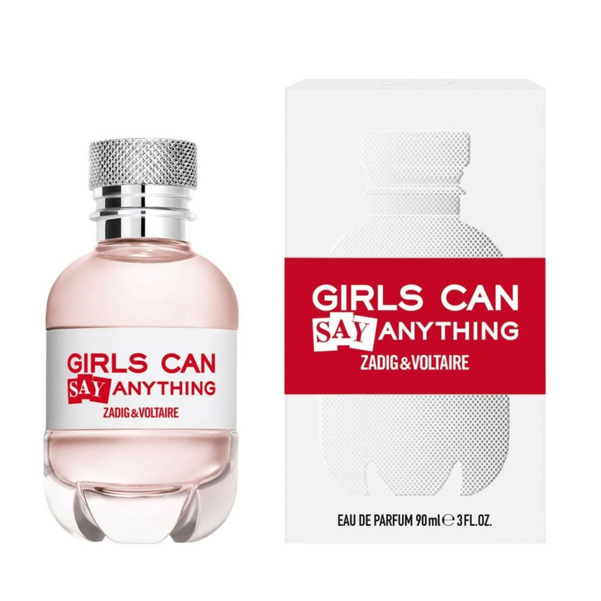 + VAT Brand New Zadig & Voltaire Girls Can SAY Anything 90ml EDP Spray