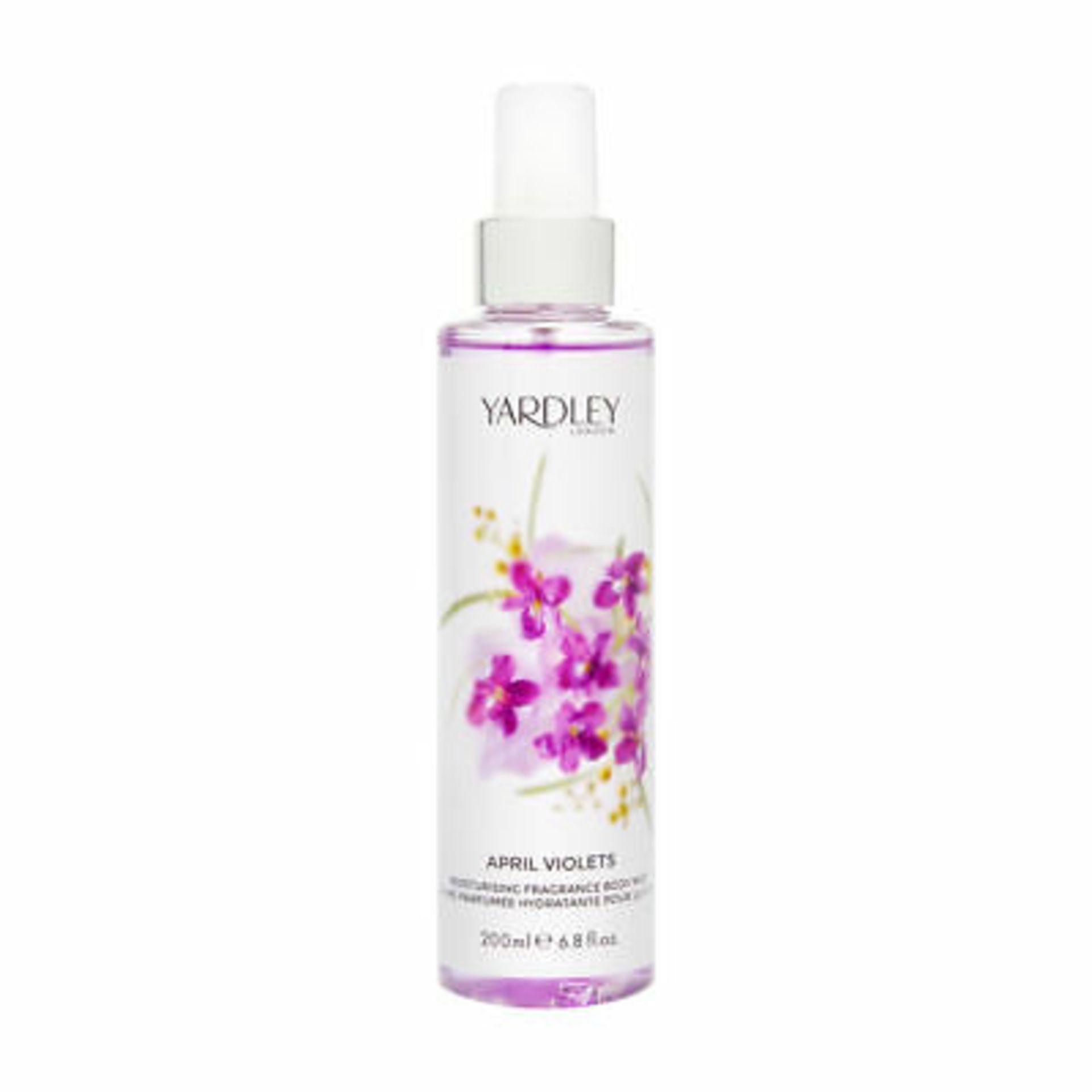 + VAT Brand New Yardley April Violets 200ml Fragrance Mist