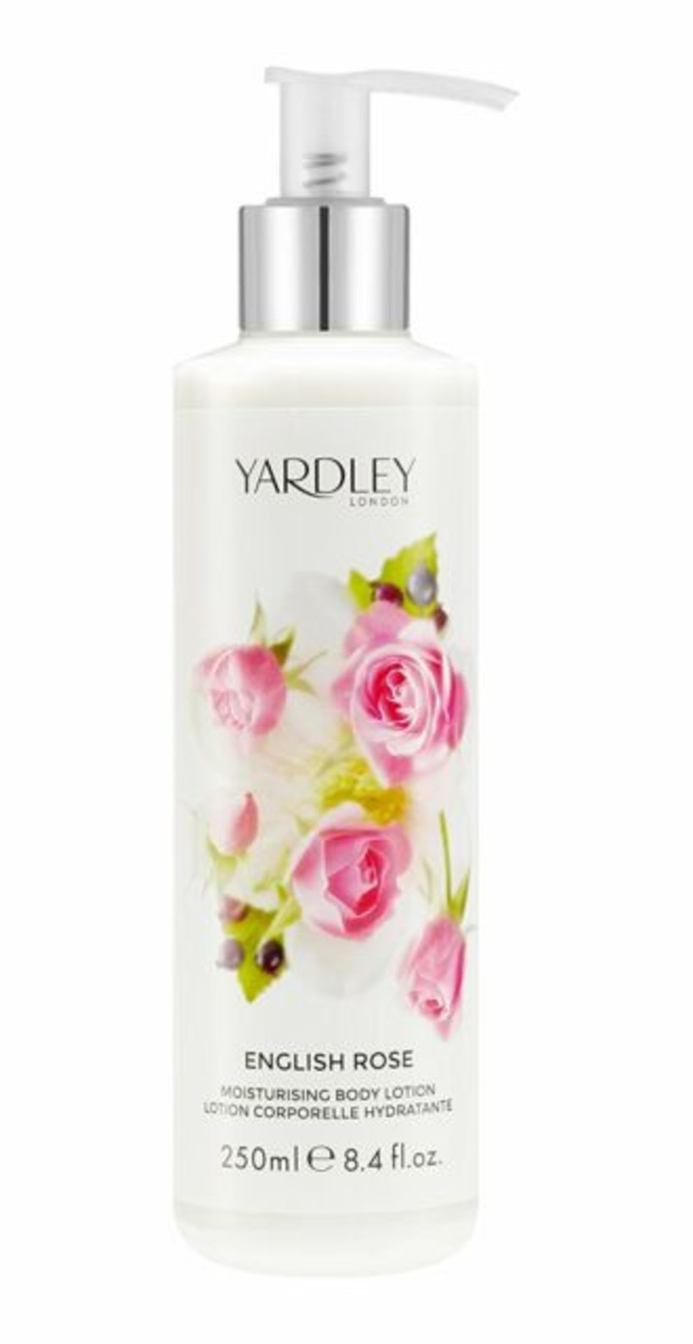 + VAT Brand New Yardley English Rose 250ml Body Lotion