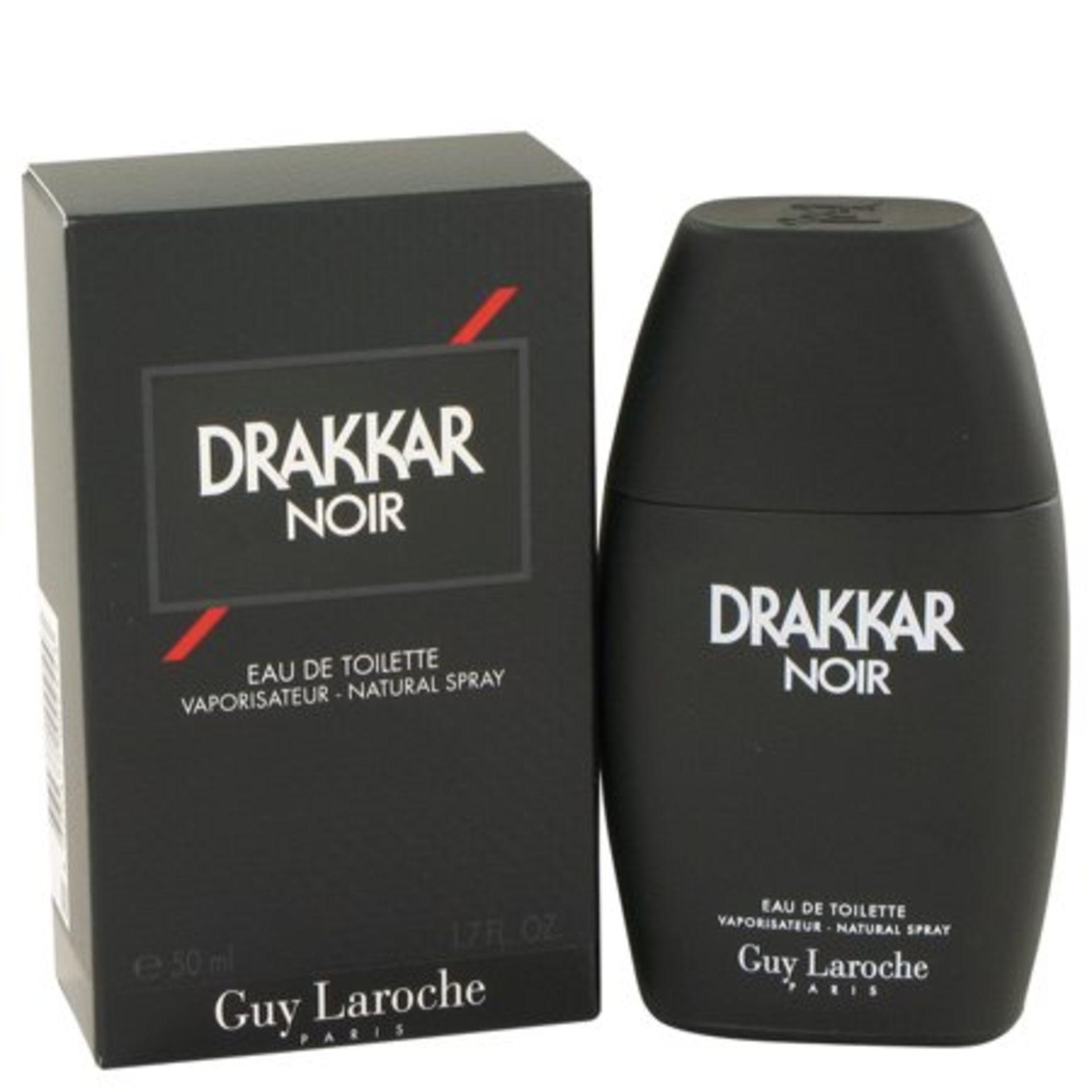 + VAT Brand New Guy Laroche Drakkar Noir 50ml EDT Spray